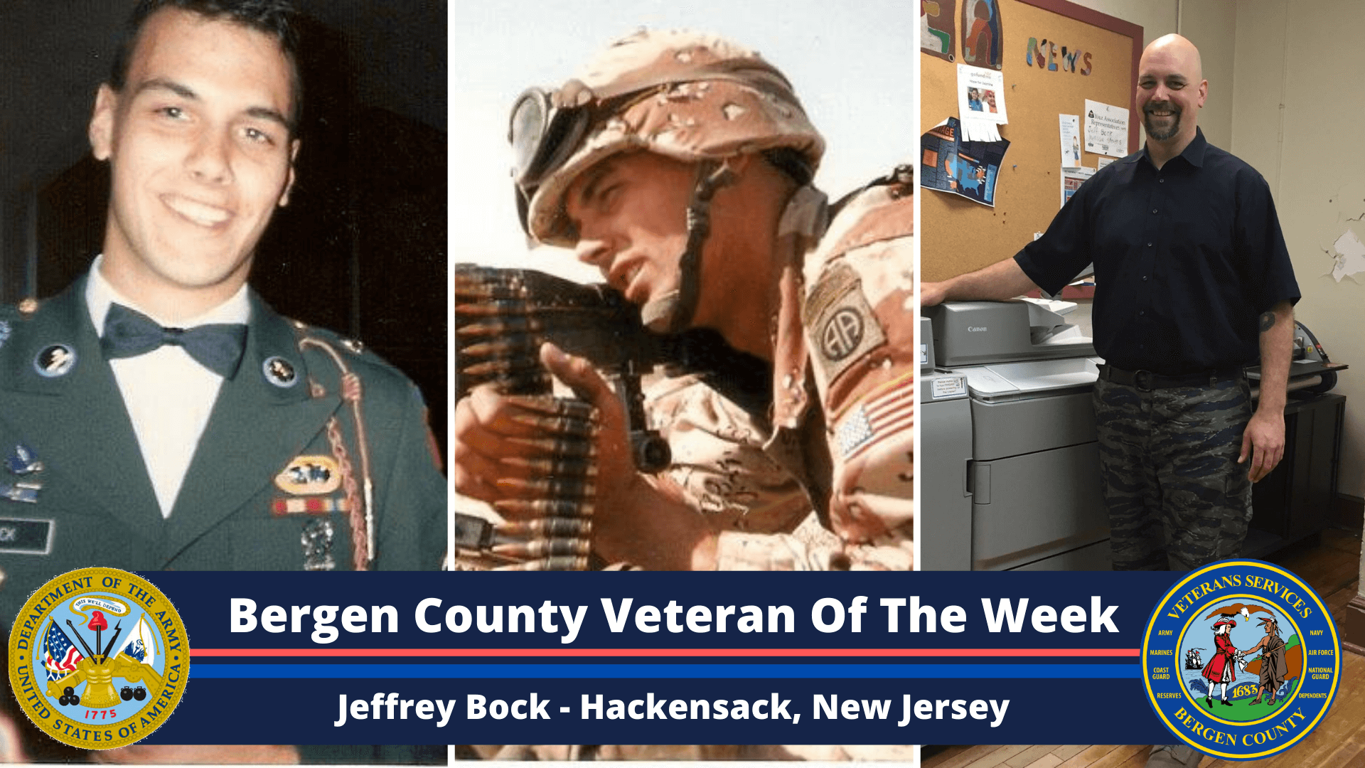 Read more about the article Bergen County Veteran of the Week: Jeffrey Bock