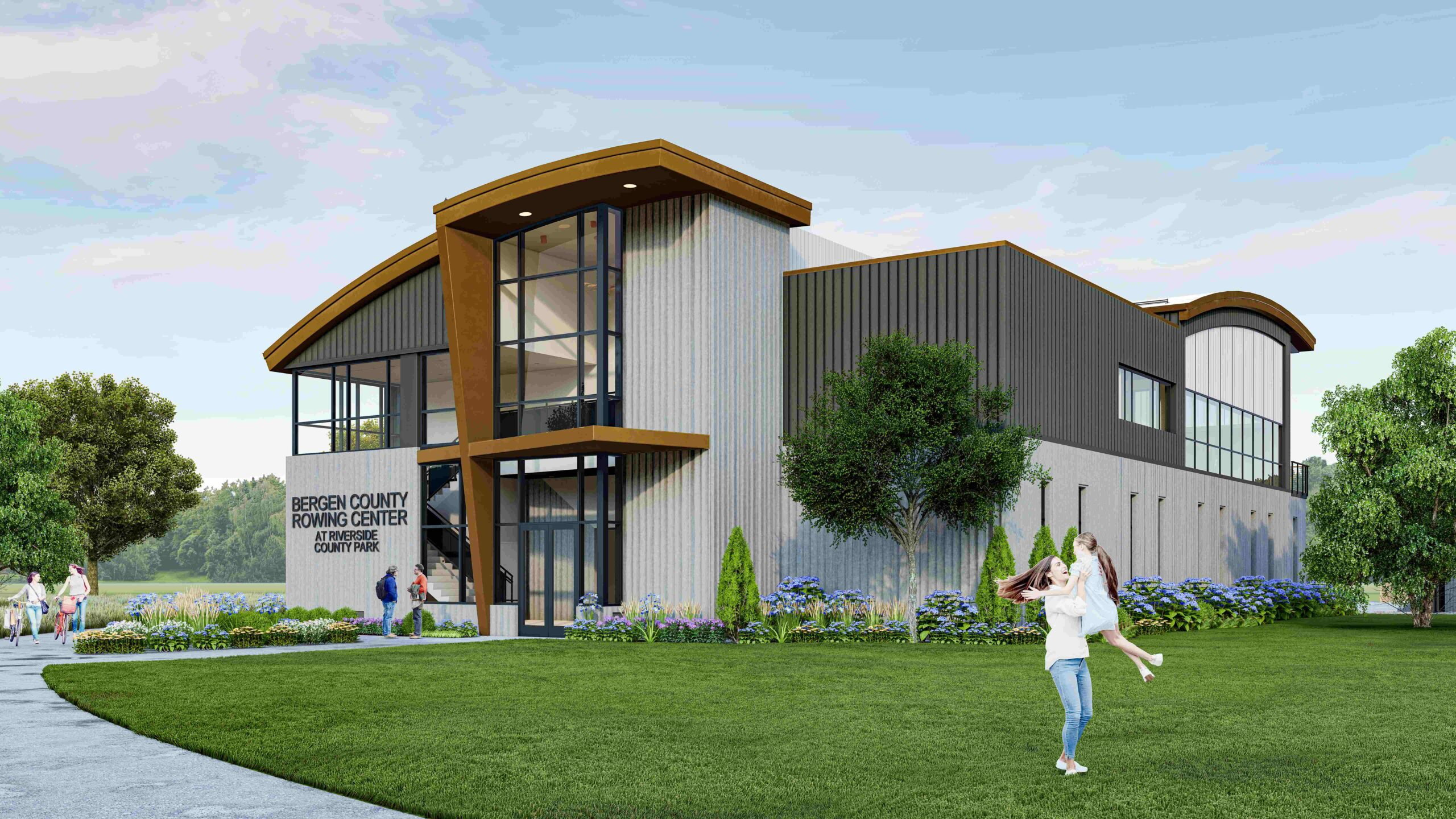 Read more about the article Bergen County Breaks Ground on New Rowing Center and Boathouse at Riverside County Park South