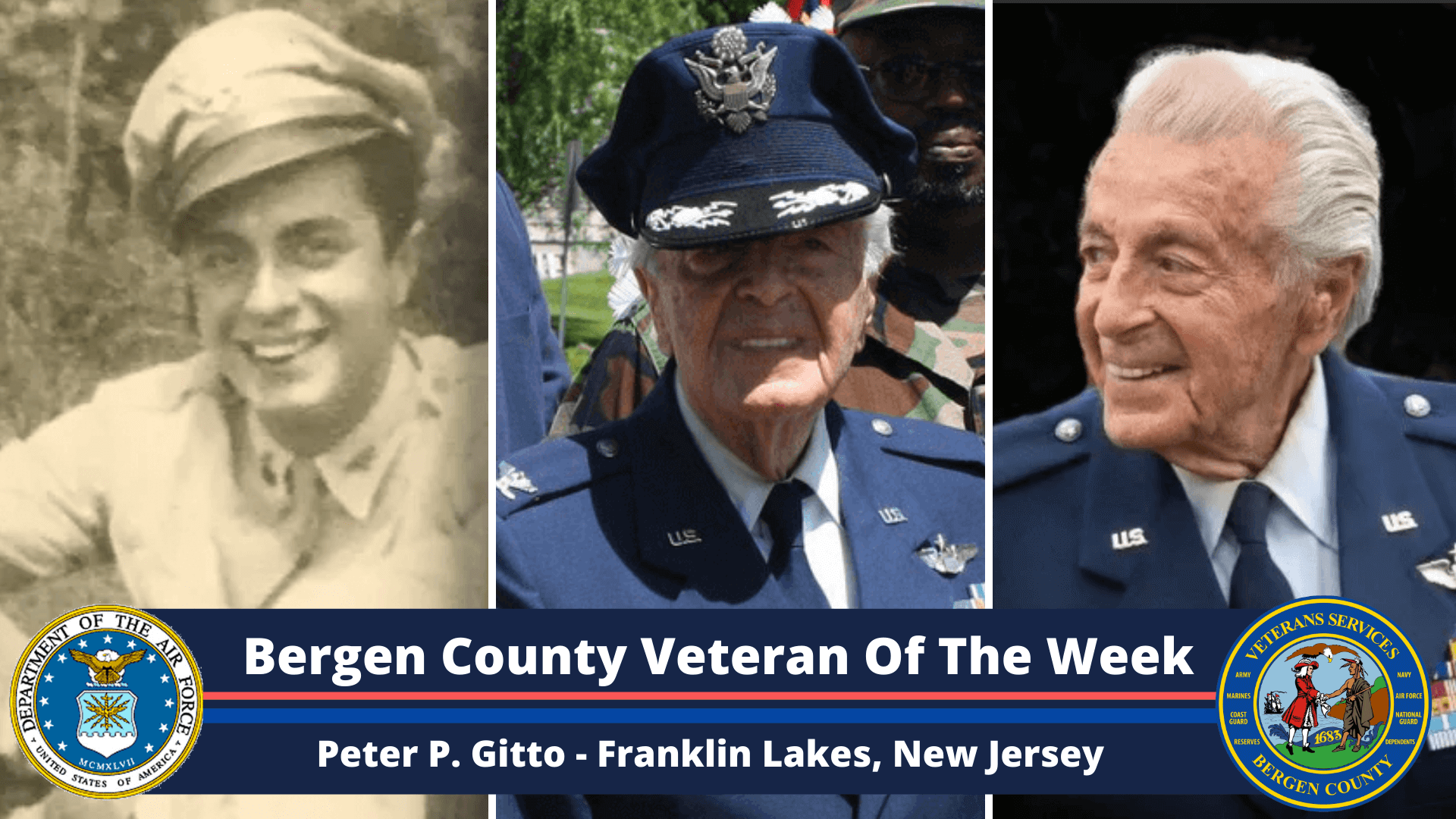 Read more about the article Bergen County Veteran of the Week: Peter P. Gitto