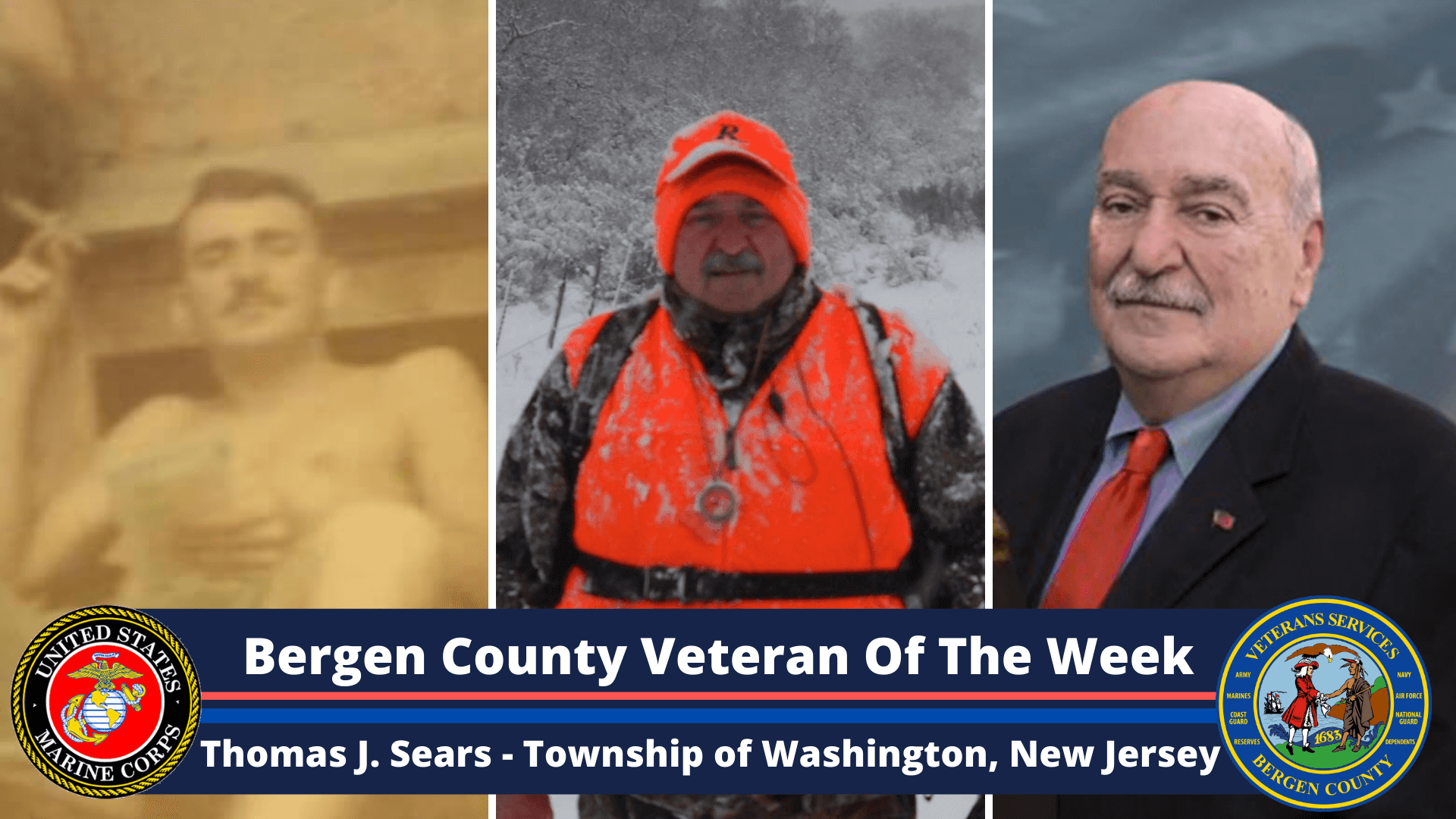 Read more about the article Bergen County Veteran of the Week: Thomas J. Sears