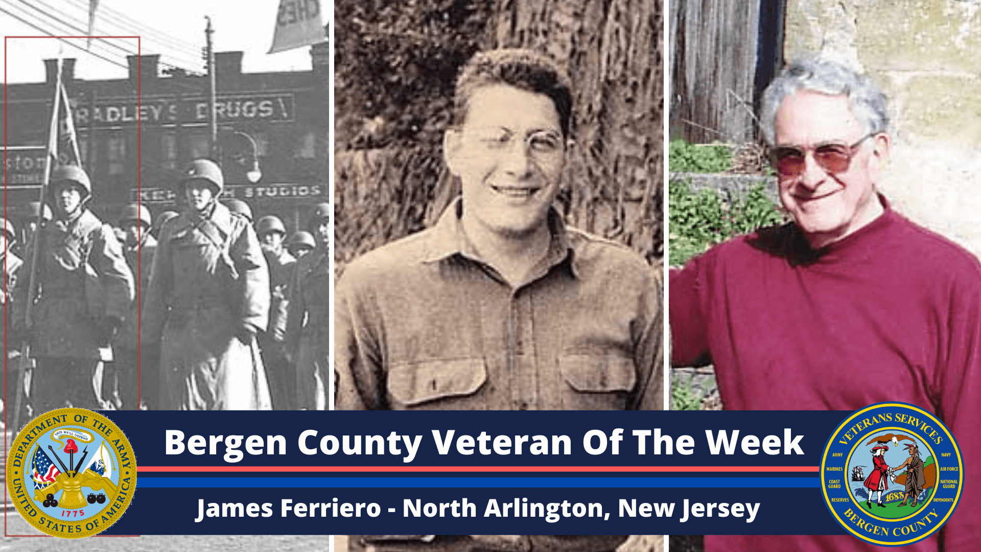 Read more about the article Bergen County Veteran of the Week: James Ferriero