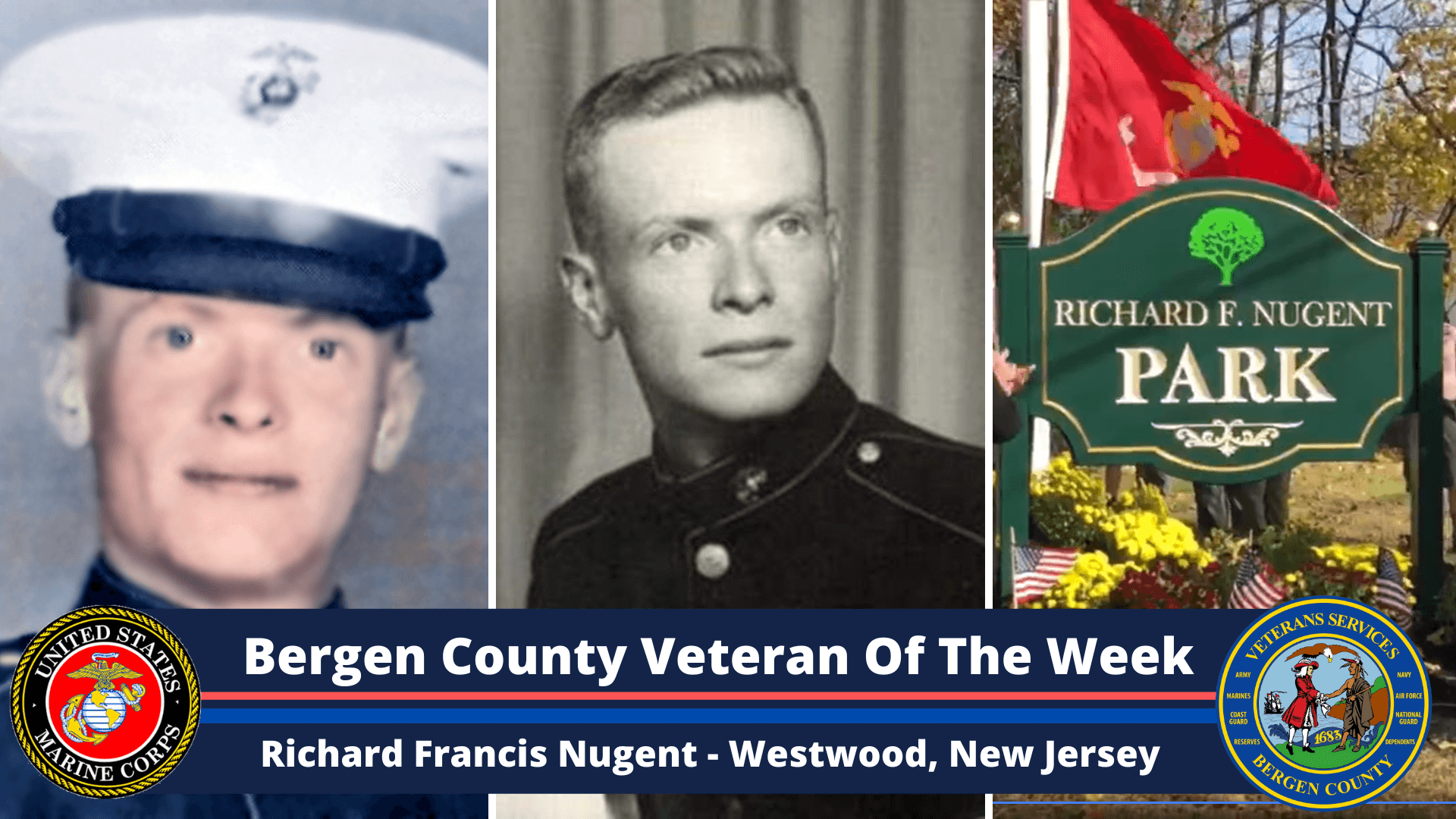 Read more about the article Bergen County Veteran of the Week: Richard Francis Nugent